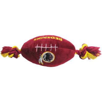 Washington Redskins NFL Squeaker Football Toy