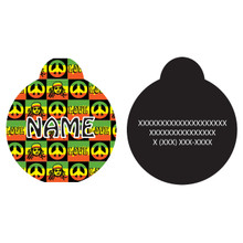 Rasta HD Pet ID Tag
