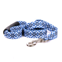 Aztec Blue EZ-Grip Dog Leash