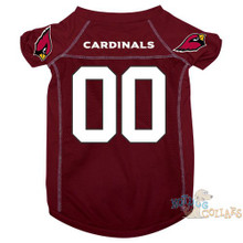 Arizona Cardinals PREMIUM NFL Football Pet Jersey