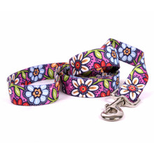 Pink Garden Dog Leash