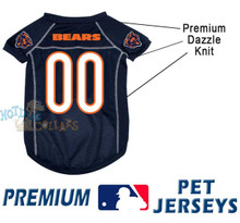 Chicago Bears PREMIUM NFL Football Pet Jersey