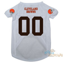 Cleveland Browns PREMIUM NFL Football Pet Jersey