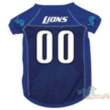 Detroit Lions PREMIUM NFL Football Pet Jersey