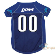 Detroit Lions PREMIUM NFL Football Pet Jersey