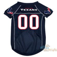 Houston Texans PREMIUM NFL Football Pet Jersey