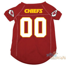 Kansas City Chiefs PREMIUM NFL Football Pet Jersey