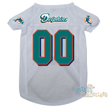 Miami Dolphins PREMIUM NFL Football Pet Jersey