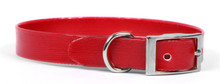 Solid Red Elements Dog Collar
