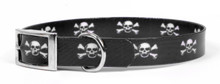 Skulls Elements Dog Collar