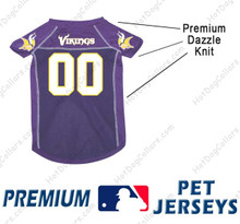 Minnesota Vikings PREMIUM NFL Football Pet Jersey