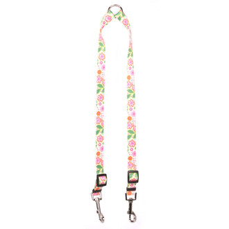 Flower Patch Coupler Dog Leash