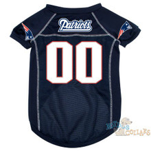New England Patriots PREMIUM NFL Football Pet Jersey