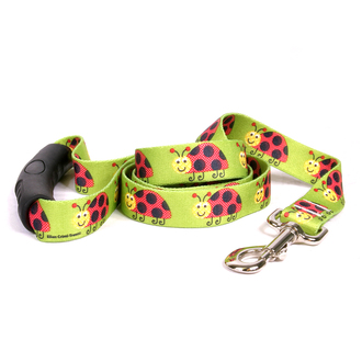 Lovely Ladybugs EZ-Grip Dog Leash