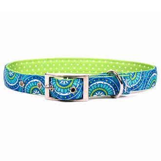Radiance Blue Uptown Dog Collar