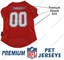 Tampa Bay Buccaneers PREMIUM NFL Football Pet Jersey