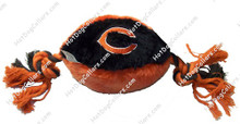 Chicago Bears Plush Football Pet Toy