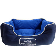 Seattle Seahawks NFL Football NESTING Pet Bed