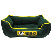Green Bay Packers NFL Football Dog Bed
