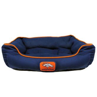 Denver Broncos NFL Football Dog Bed