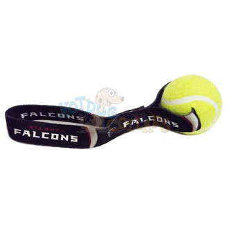 Atlanta Falcons  Tennis Ball Tug Dog Toy