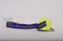 Baltimore Ravens  Tennis Ball Tug Dog Toy