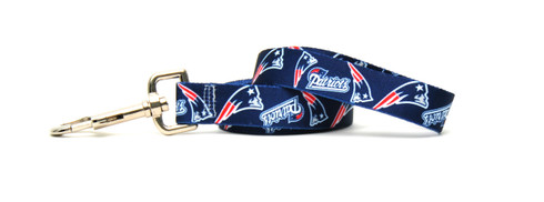 New England Patriots Logo Dog Leash