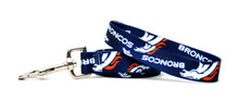 Denver Broncos Logo Dog Leash
