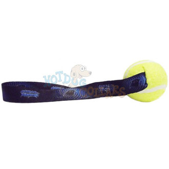 Carolina Panthers  Tennis Ball Tug Dog Toy