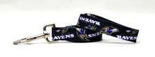 Baltimore Ravens Logo Dog Leash