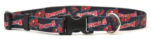 Tampa Bay Buccaneers Logo Dog Collar