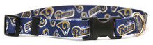 St. Louis Rams Logo Dog Collar