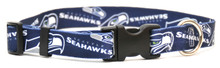 Seattle Seahawks Logo Dog Collar