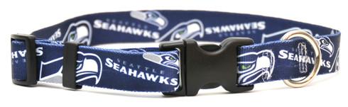 Seattle Seahawks Logo Dog Collar