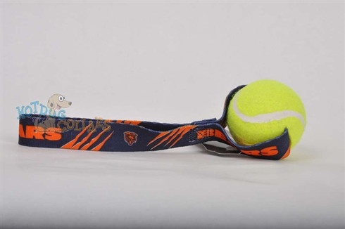 Chicago Bears  Tennis Ball Tug Dog Toy