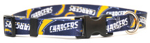 San Diego Chargers Logo Dog Collar