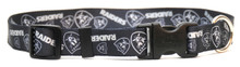 Oakland Raiders Logo Dog Collar