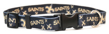 New Orleans Saints Logo Dog Collar
