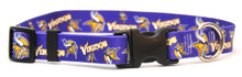 Minnesota Vikings Logo Dog Collar