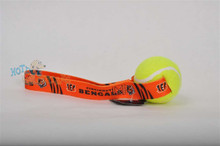 Cincinnati Bengals  Tennis Ball Tug Dog Toy