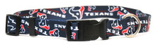 Houston Texans Logo Dog Collar