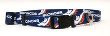 Denver Broncos Logo Dog Collar