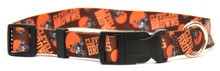 Cleveland Browns Logo Dog Collar