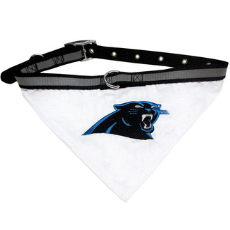 Carolina Panthers Bandana Dog Collar