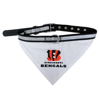 Cincinnati Bengals Bandana Dog Collar