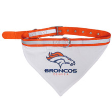 Denver Broncos Bandana Dog Collar
