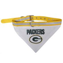 Green Bay Packers Bandana Dog Collar
