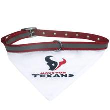 Houston Texans Bandana Dog Collar