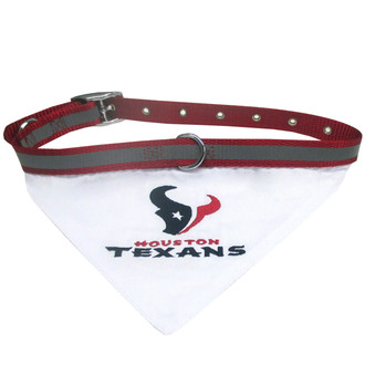 Houston Texans Bandana Dog Collar