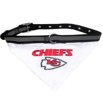 Kansas City Chiefs Bandana Dog Collar